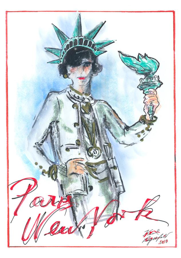 Chanel Métiers d'art Paris NYC invitation Esprit de Gabrielle espritdegabrielle.com