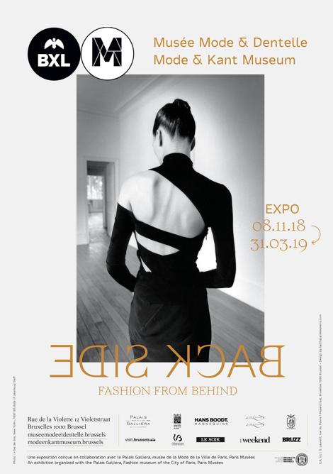 Expo Back Side musée Mode dentelle Bruxelles Esprit de Gabrielle espritdegabrielle.com