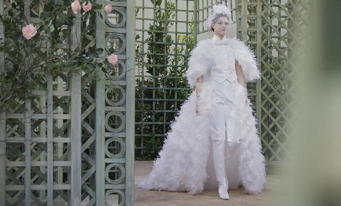 CHANEL Haute Couture SS 2018 printemps été mariée Esprit de Gabrielle espritdegabrielle.com