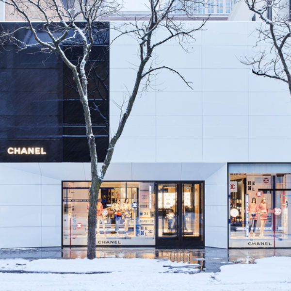 CHANEL inaugure une nouvelle boutique à Chicago, sur Oak Street