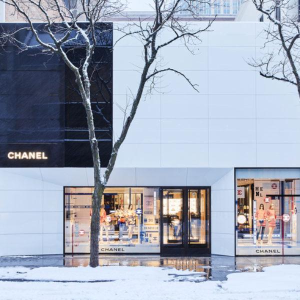 CHANEL inaugure une nouvelle boutique à Chicago, sur Oak Street