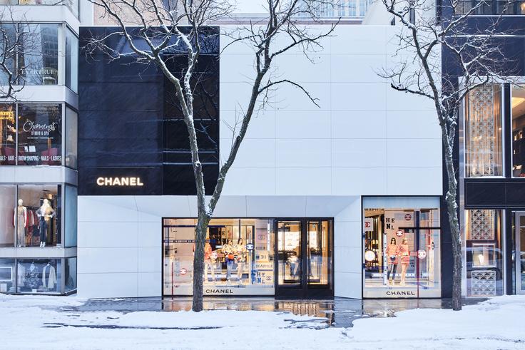 Boutique Chanel Chicago Oak Street Esprit de Gabrielle espritdegabrielle.com