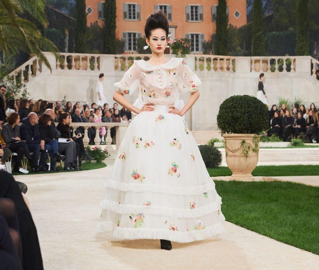 CHANEL Haute Couture printemps été 2019 Esprit de Gabrielle espritdegabrielle.com