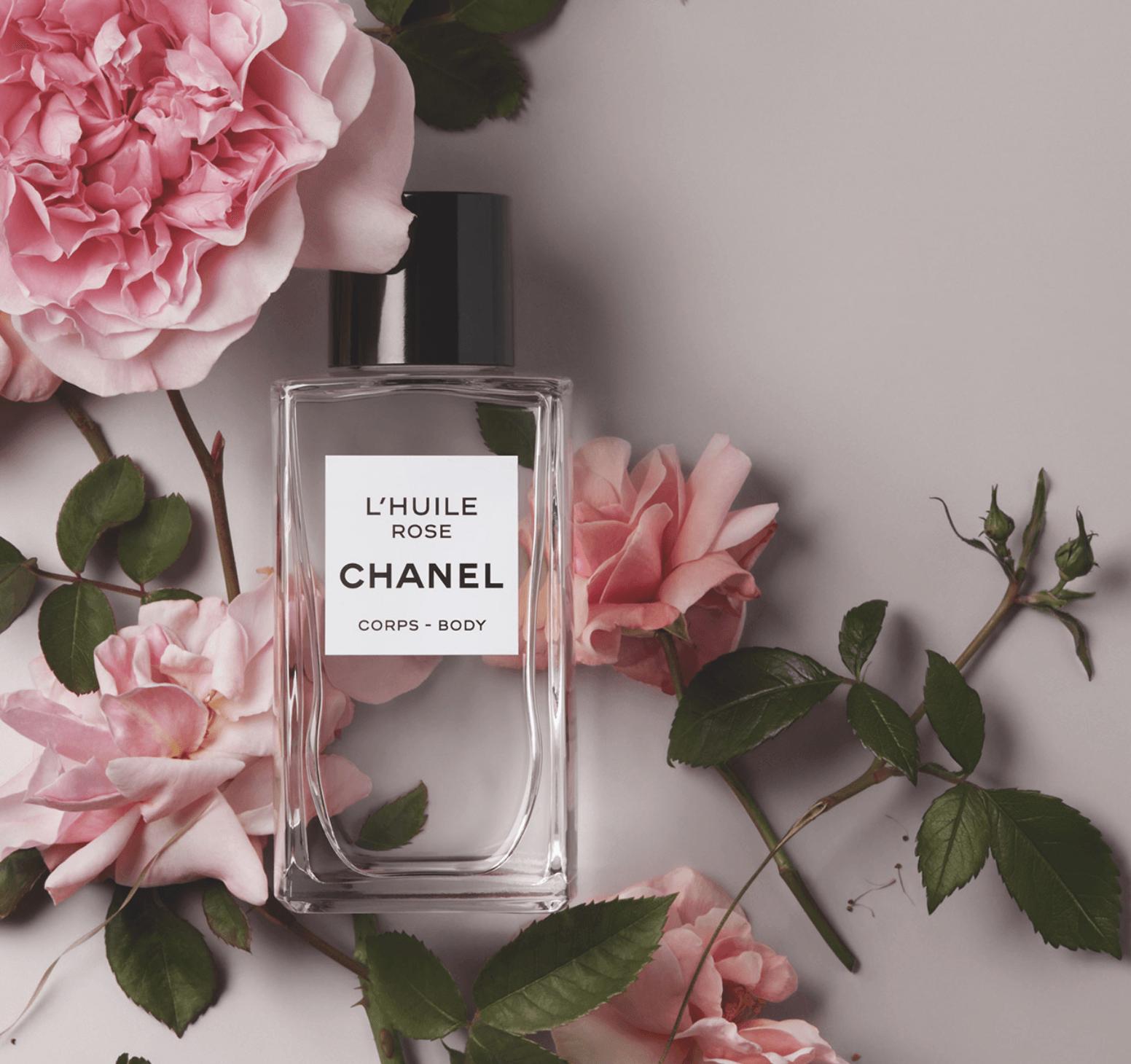 CHANEL Huile de rose Esprit de Gabrielle espritdegabrielle.com