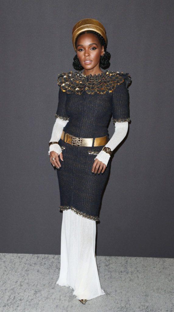 Janelle Monae en CHANEL aux Golden Globes