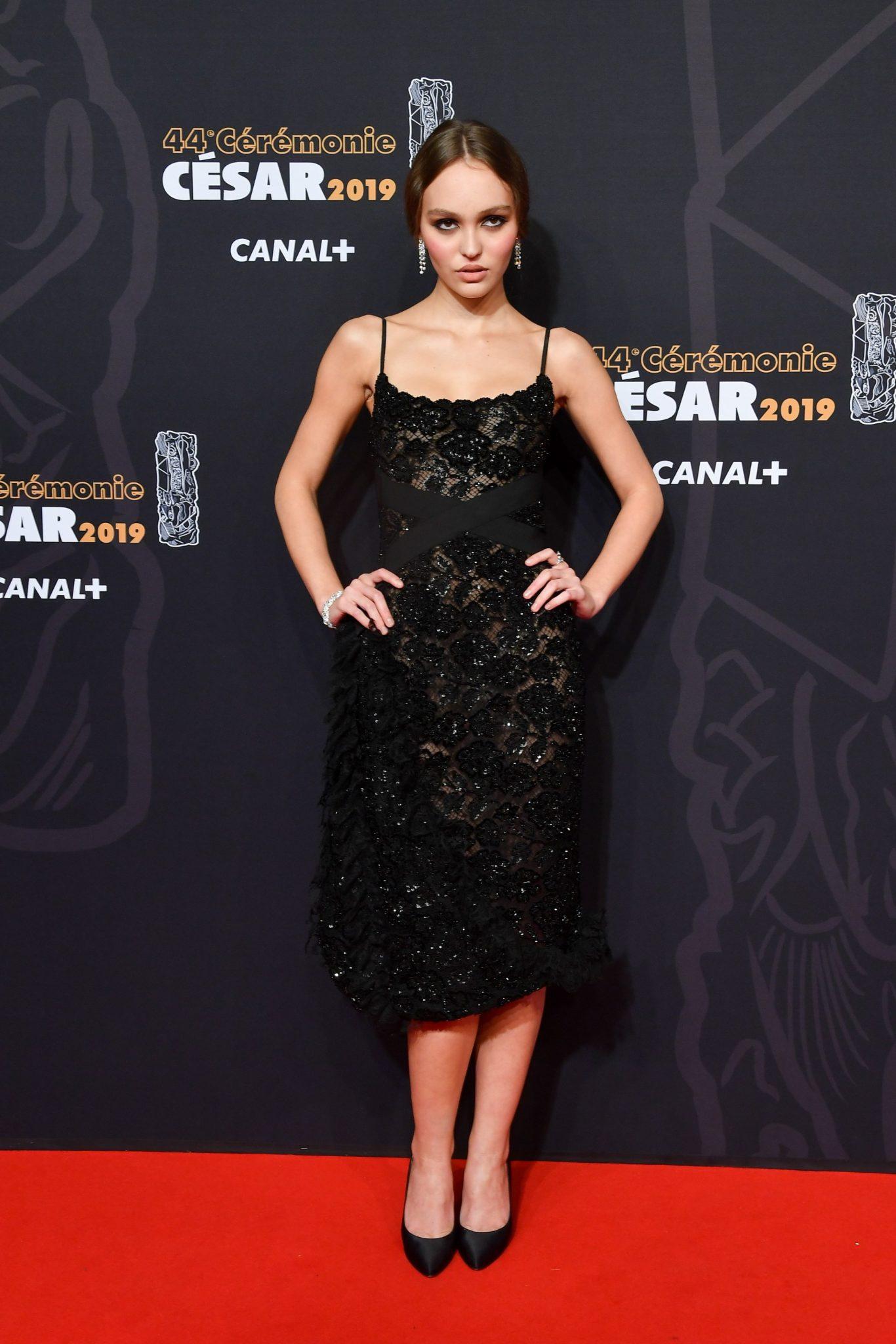 CESAR 2019 Lily Rose Depp CHANEL Esprit de Gabrielle espritdegabrielle.com