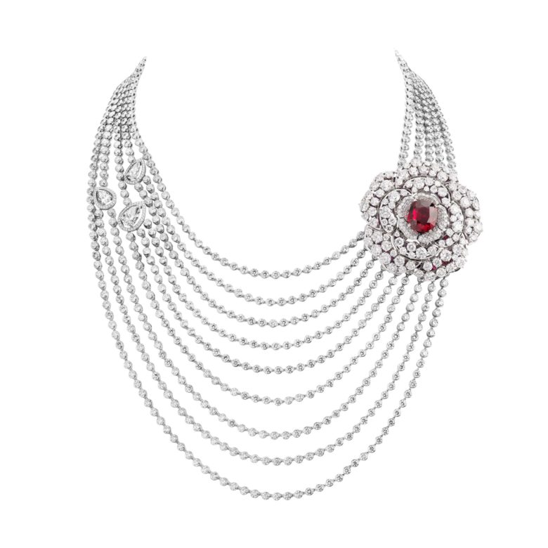 CHANEL Haute Joaillerie Collier Rouge Incandescent Esprit de Gabrielle espritdegabrielle.com