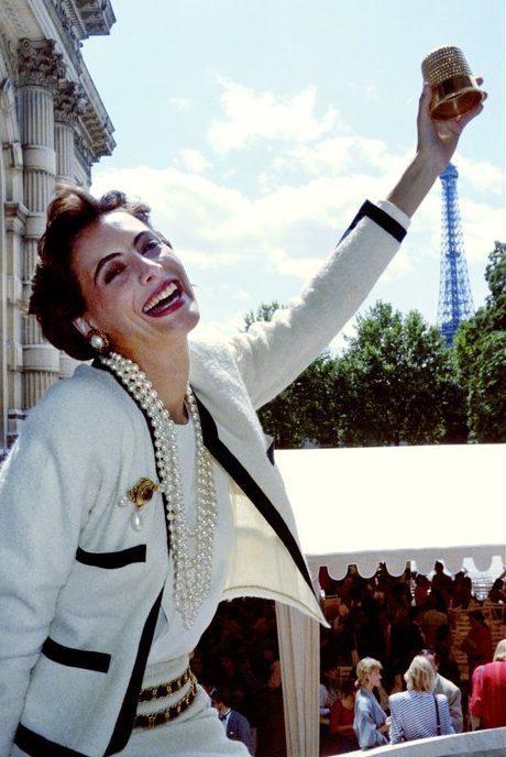 Ines de la Fressange Dé d'or CHANEL 1986 Esprit de Gabrielle espritdegabrielle.com