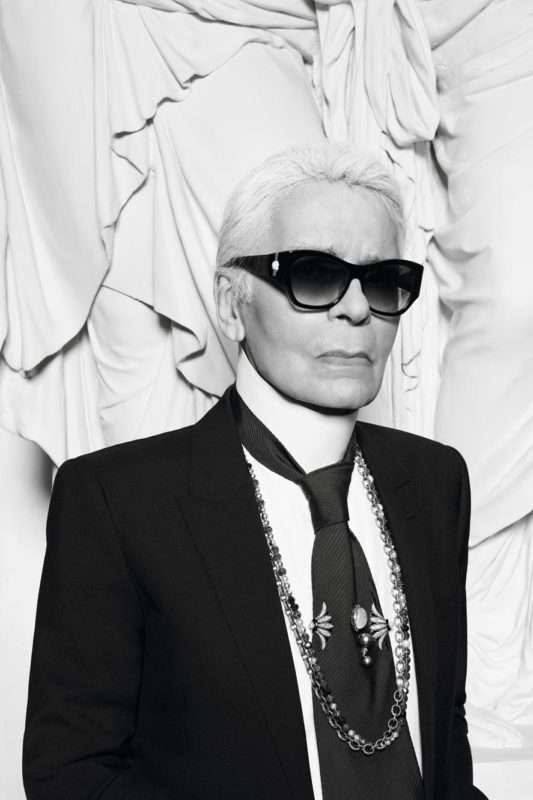 Karl Lagerfeld par Hedi Slimane Vogue Paris Esprit de Gabrielle espritdegabrielle.com