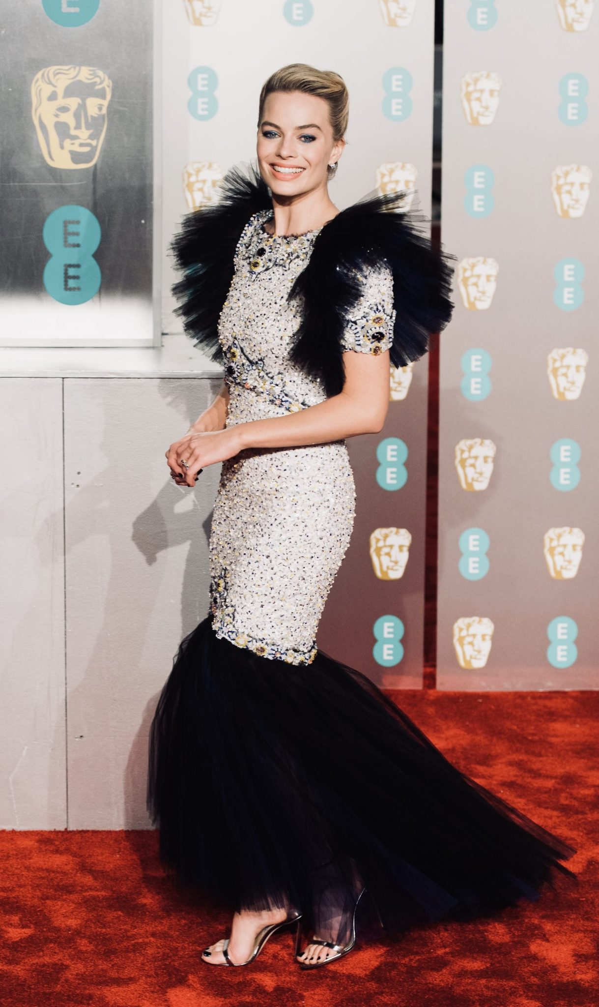 Margot Robbie BAFTA 2019 CHANEL Esprit de Gabrielle espritdegabrielle.com