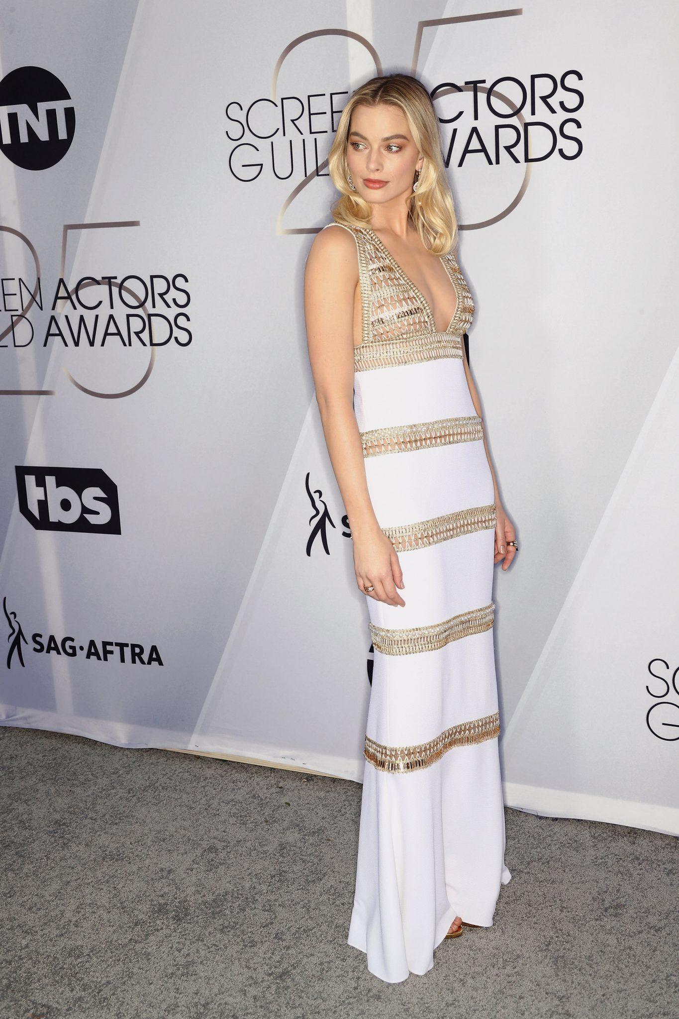 Margot Robbie SAG 2019 CHANEL Esprit de Gabrielle espritdegabrielle.com