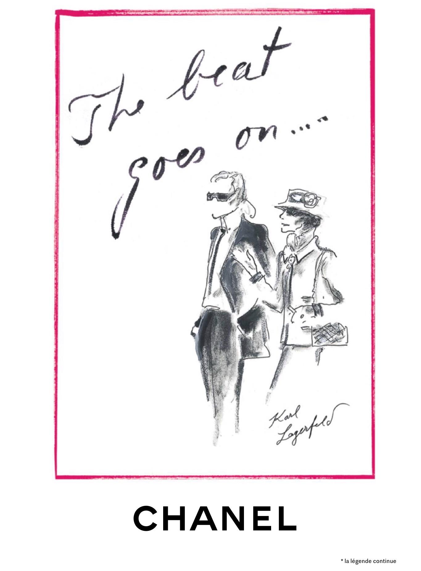 CHANEL hommage Karl Lagerfeld Esprit de Gabrielle espritdegabrielle.com