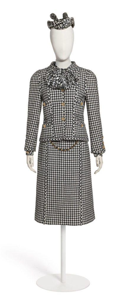CHANEL tailleur-jupe automne-hiver 1983 Esprit de Gabrielle espritdegabrielle.com