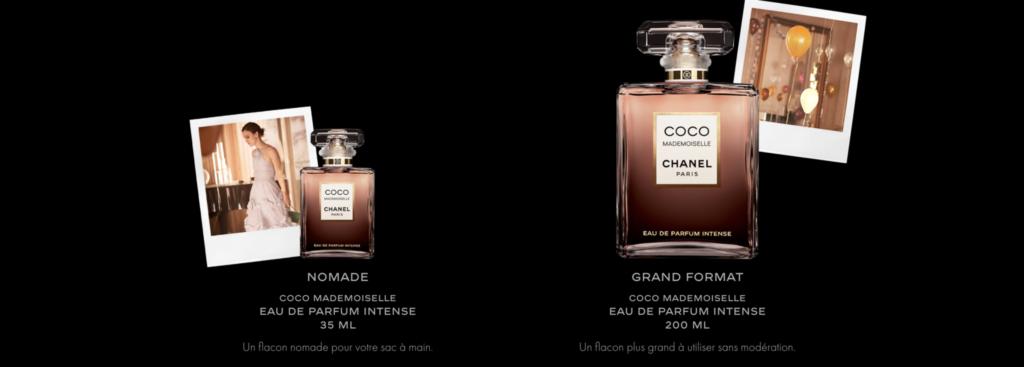 COCO Mademoiselle eau de parfum intense Esprit de Gabrielle esprtidegabrielle.com