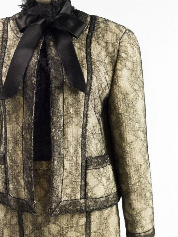 Chanel par Karl Lagerfeld, Haute couture, Printemps-été 1983 Esprit de Gabrielle espritdegabrielle.com