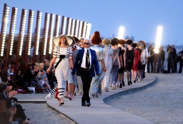 Les finals des défilés CHANEL Karl Lagerfeld Esprit de Gabrielle espritdegabrielle.com