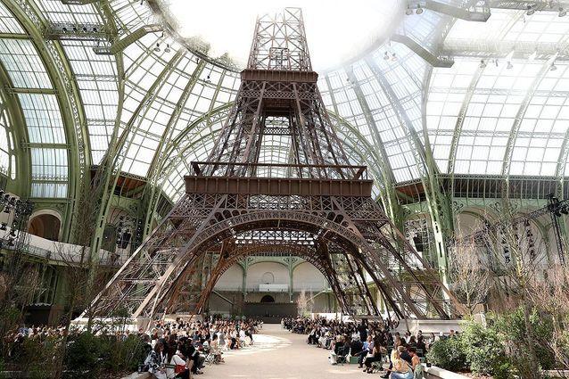 Les plus beaux décor défilés CHANEL Karl Lagerfeld Esprit de Gabrielle espritdegabrielle.com