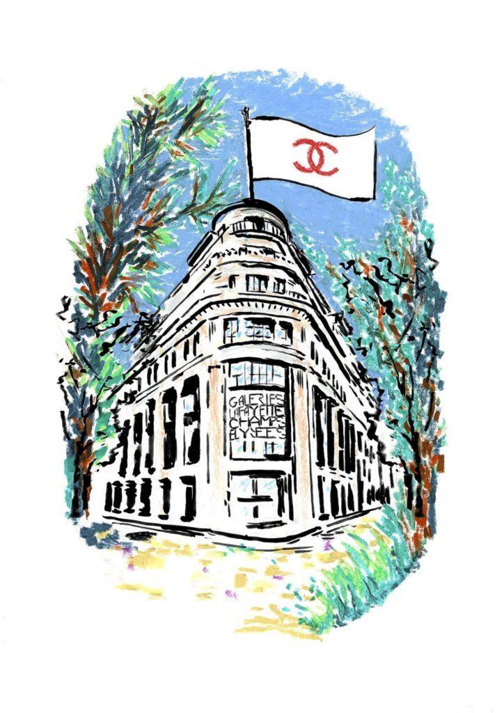 CHANEL, invité d'honneur des Galeries Lafayette Champs-Élysées