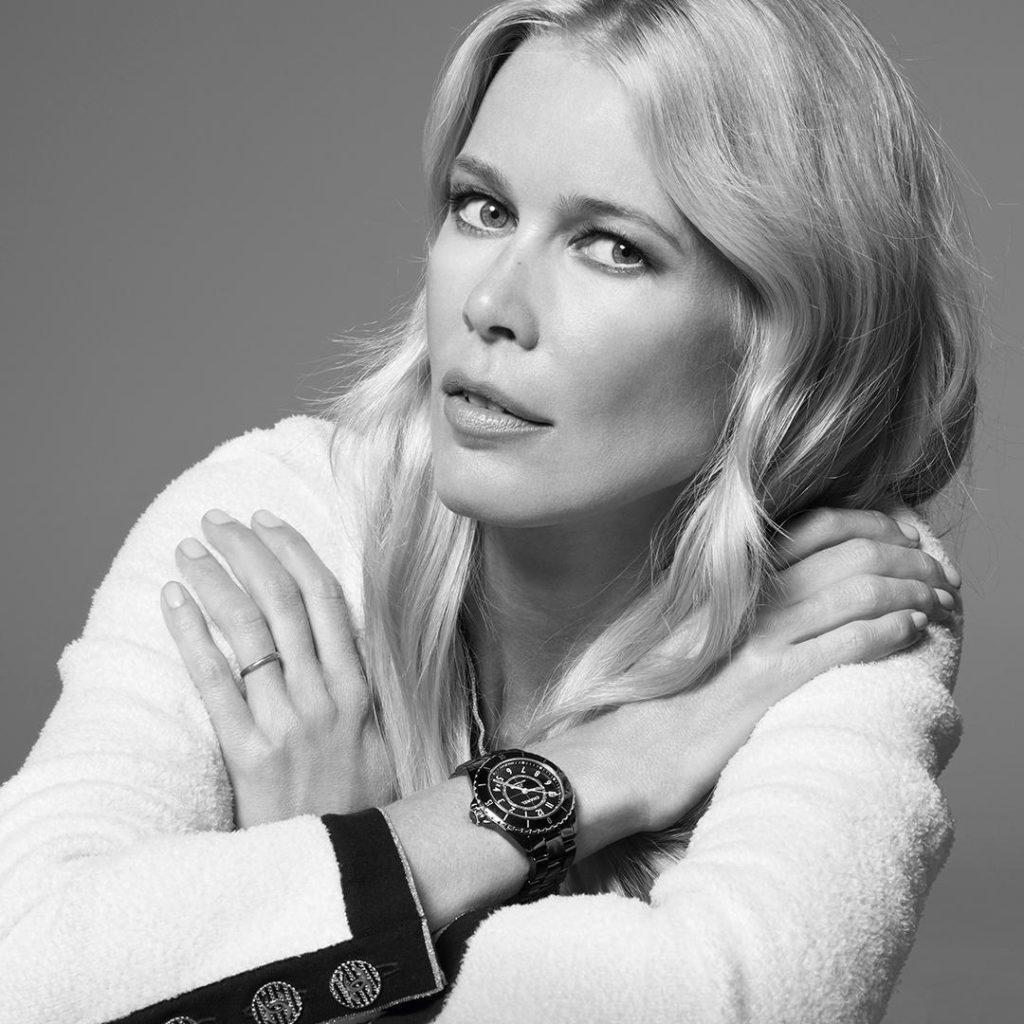 CHANEL Horlogerie Watches La nouvelle J12 Claudia Schiffer Esprit de Gabrielle espritdegabrielle.com