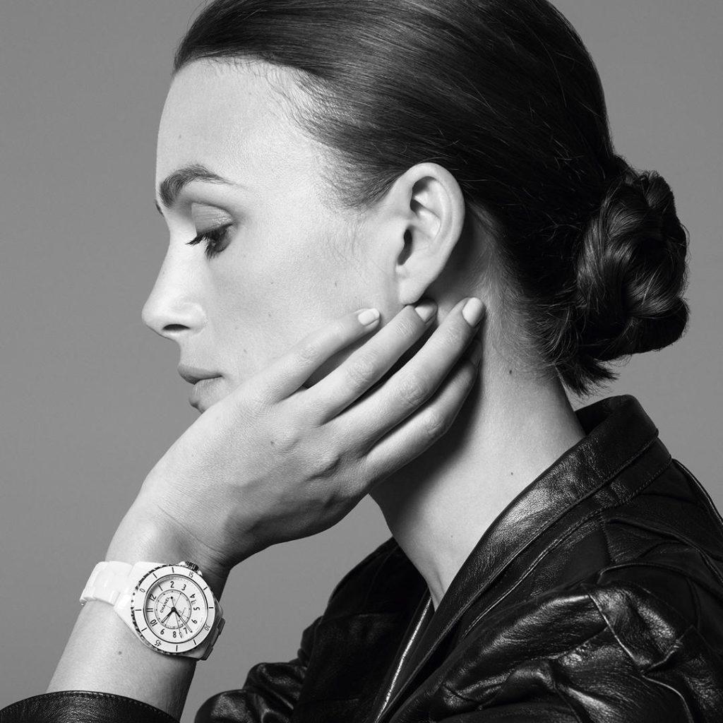 CHANEL Horlogerie Watches La nouvelle J12 Keira Knightley Esprit de Gabrielle espritdegabrielle.com