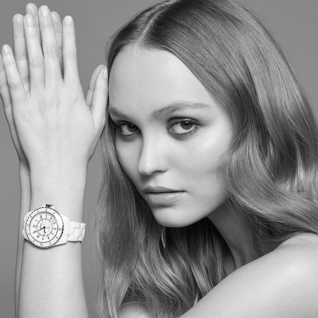 CHANEL Horlogerie Watches La nouvelle J12 Lily Rose Depp Esprit de Gabrielle espritdegabrielle.com