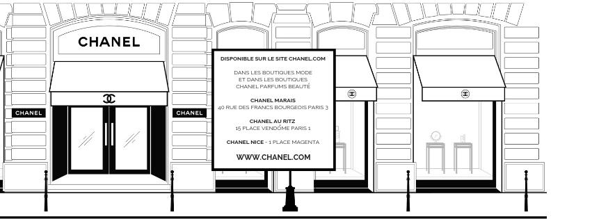Adresses boutiques CHANEL beauté 2019 Esprit de Gabrielle espritdegabrielle.com