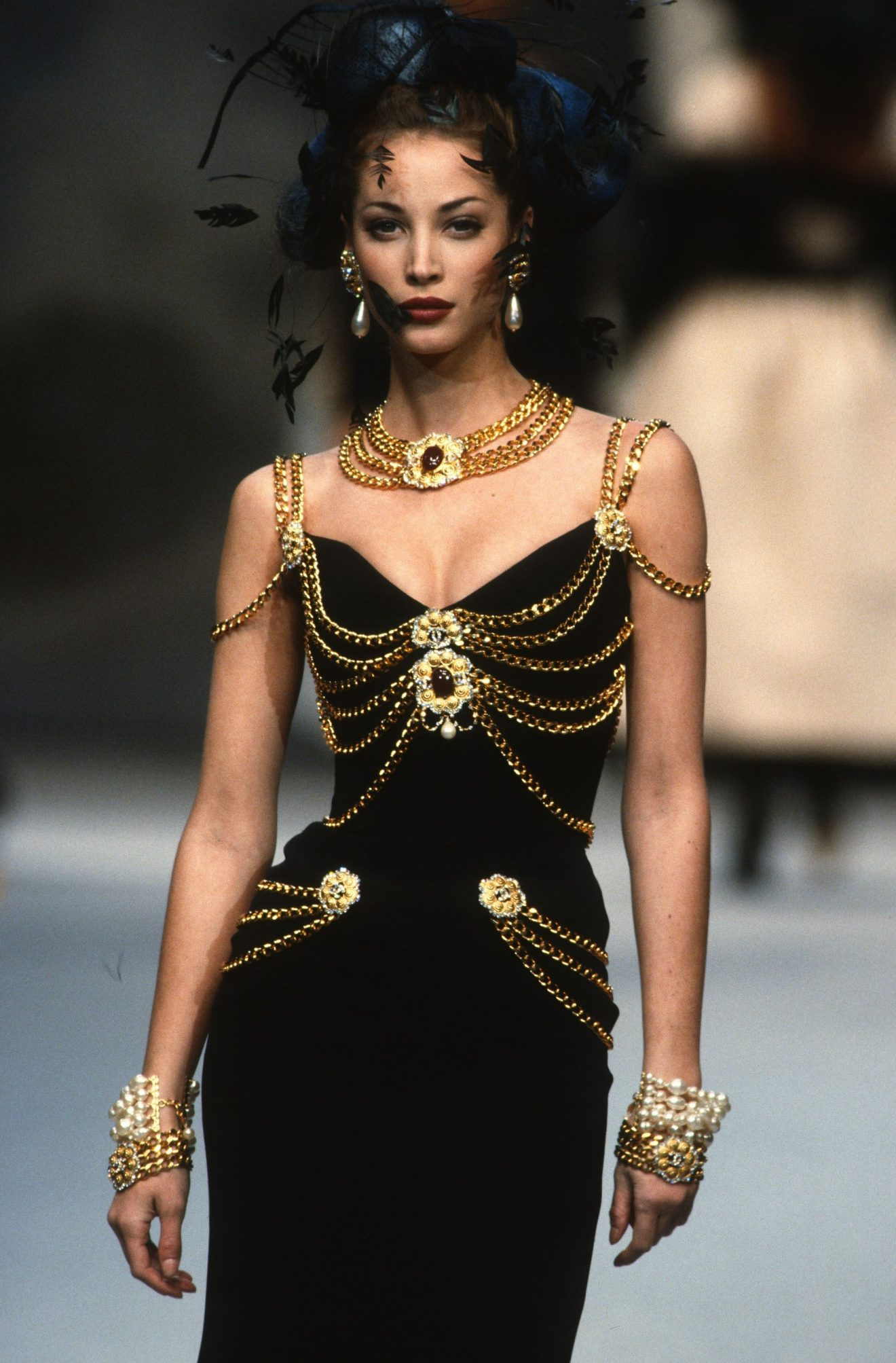 CHANEL Christy Turlington haute couture printemps-été 1992-1993 Esprit de Gabrielle espritdegabrielle.com