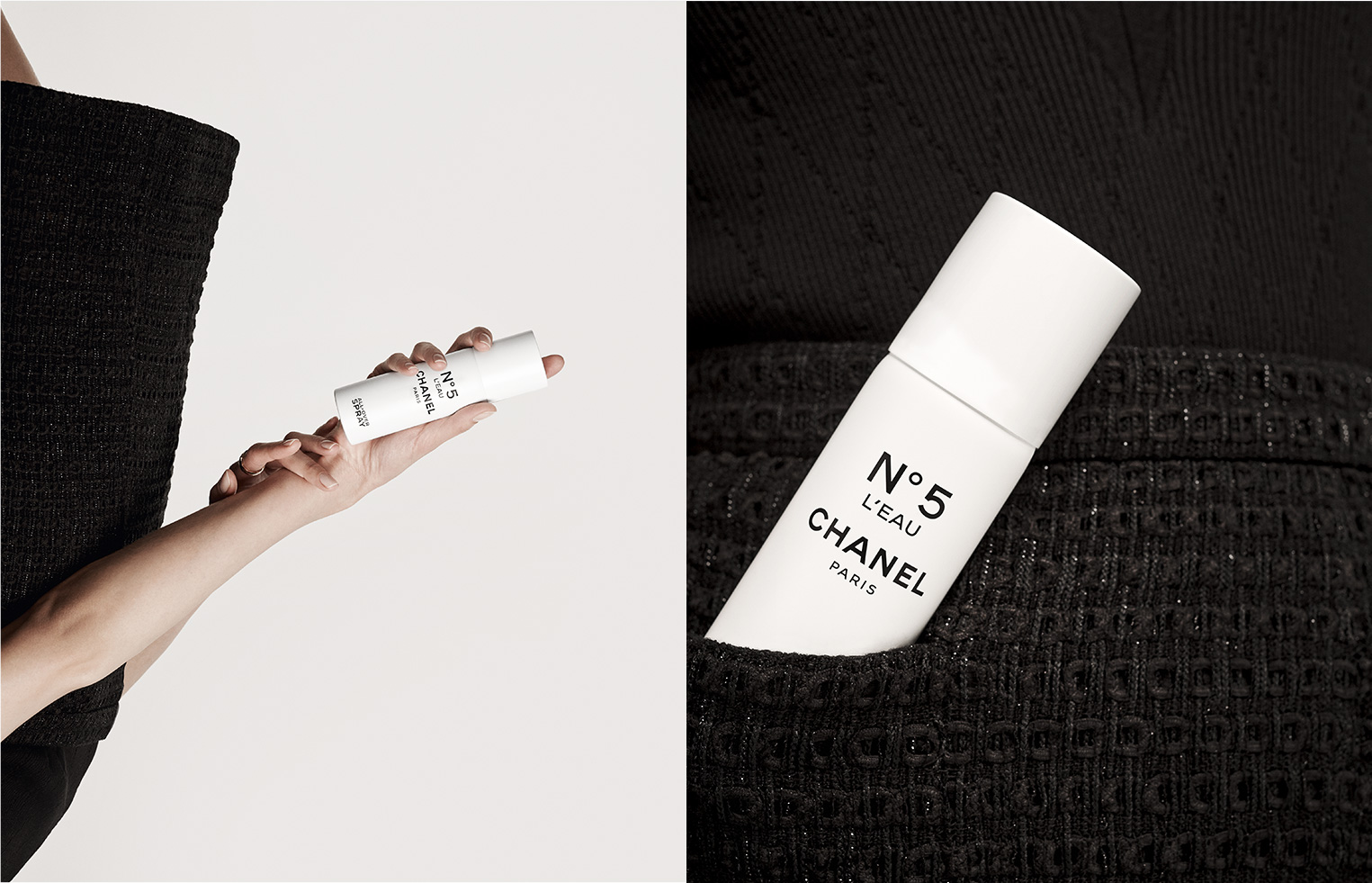 CHANEL N°5 L'EAU ALL-OVER SPARY ON HAND CREAM Esprit de Gabrielle espritdegabrielle.com