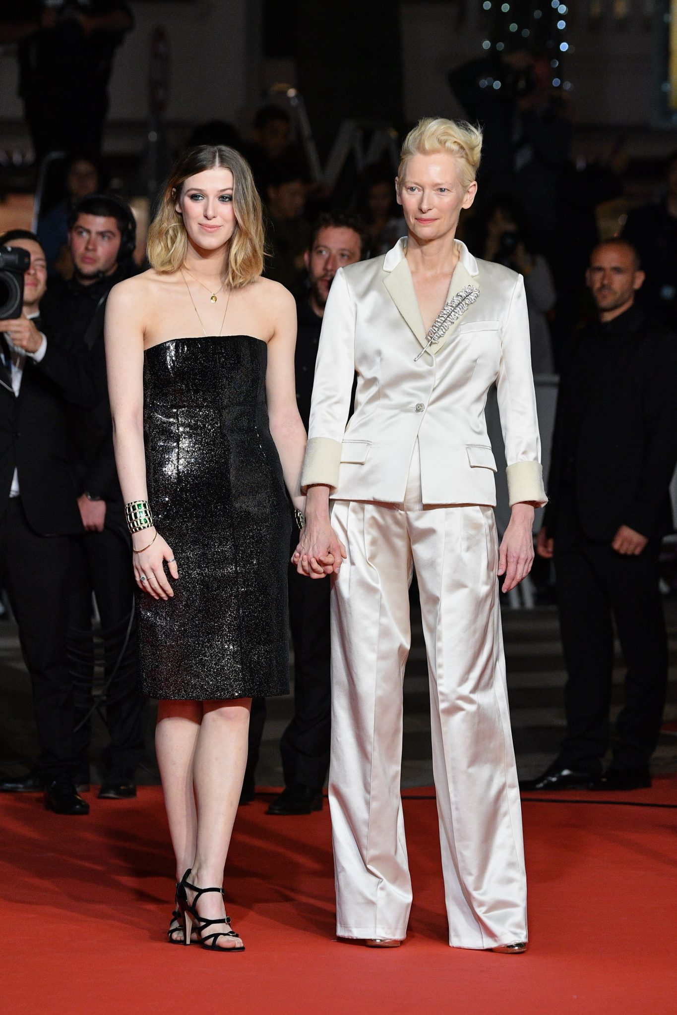 CHANEL Cannes 2019 Honor Swinton Byrne and Tilda Swinton Esprit de Gabrielle espritdegabrielle.com
