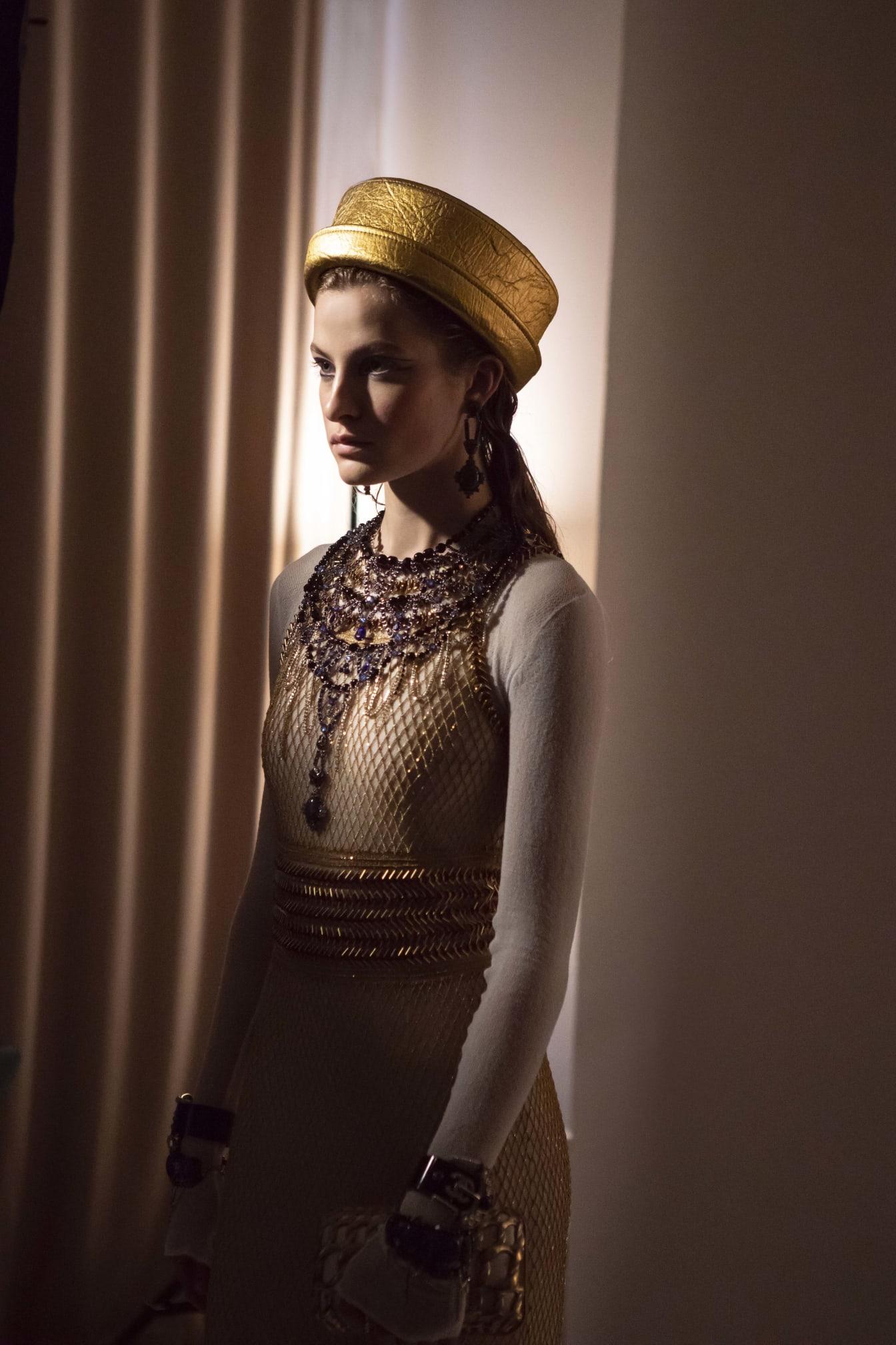 CHANEL Métiers d'Art Paris New York Résille dorée Atelier Montex Esprit de Gabrielle espritdegabrielle.com