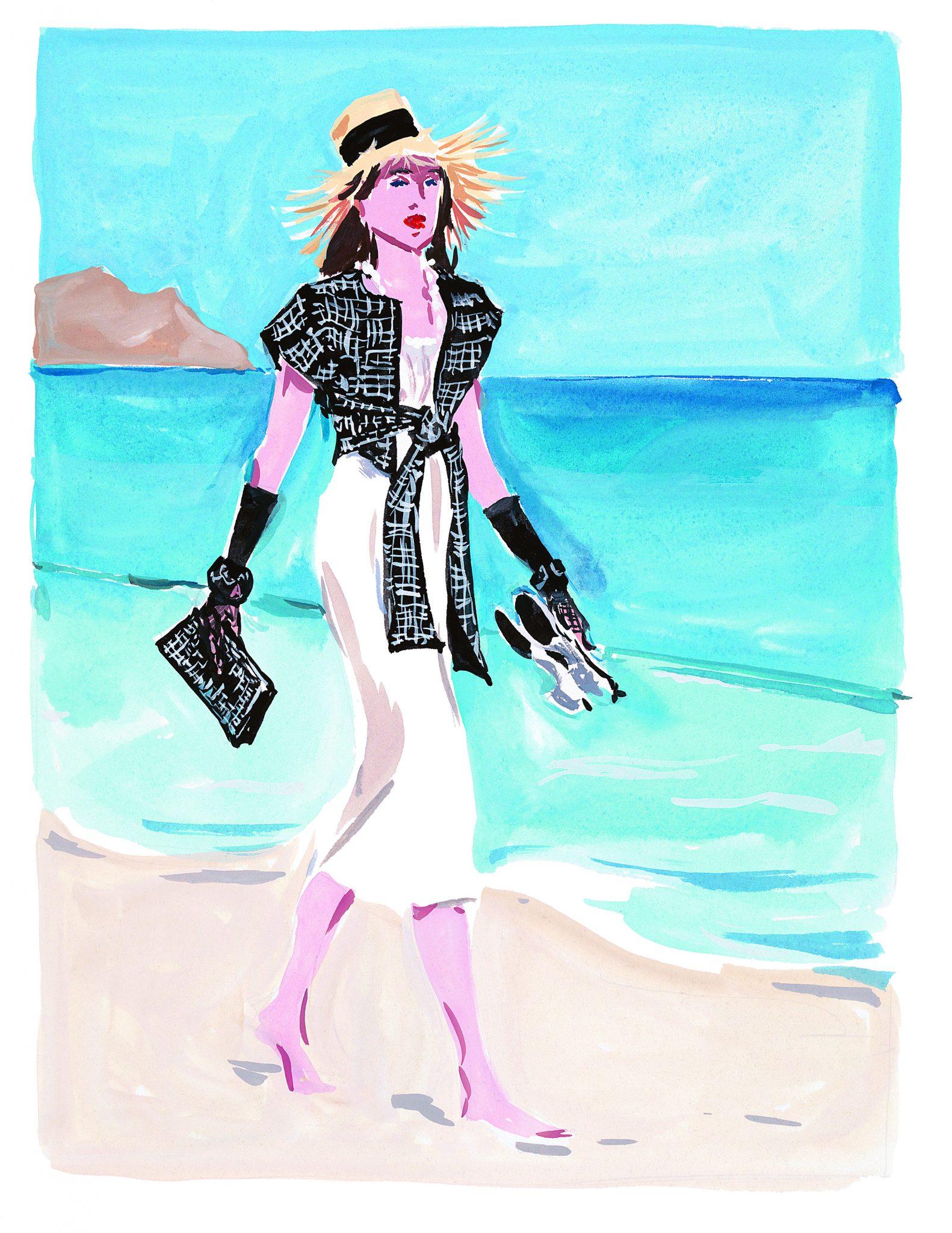 Dans les coulisses de Chanel Jean-Philippe Delhomme Esprit de Gabrielle espritdegabrielle.com