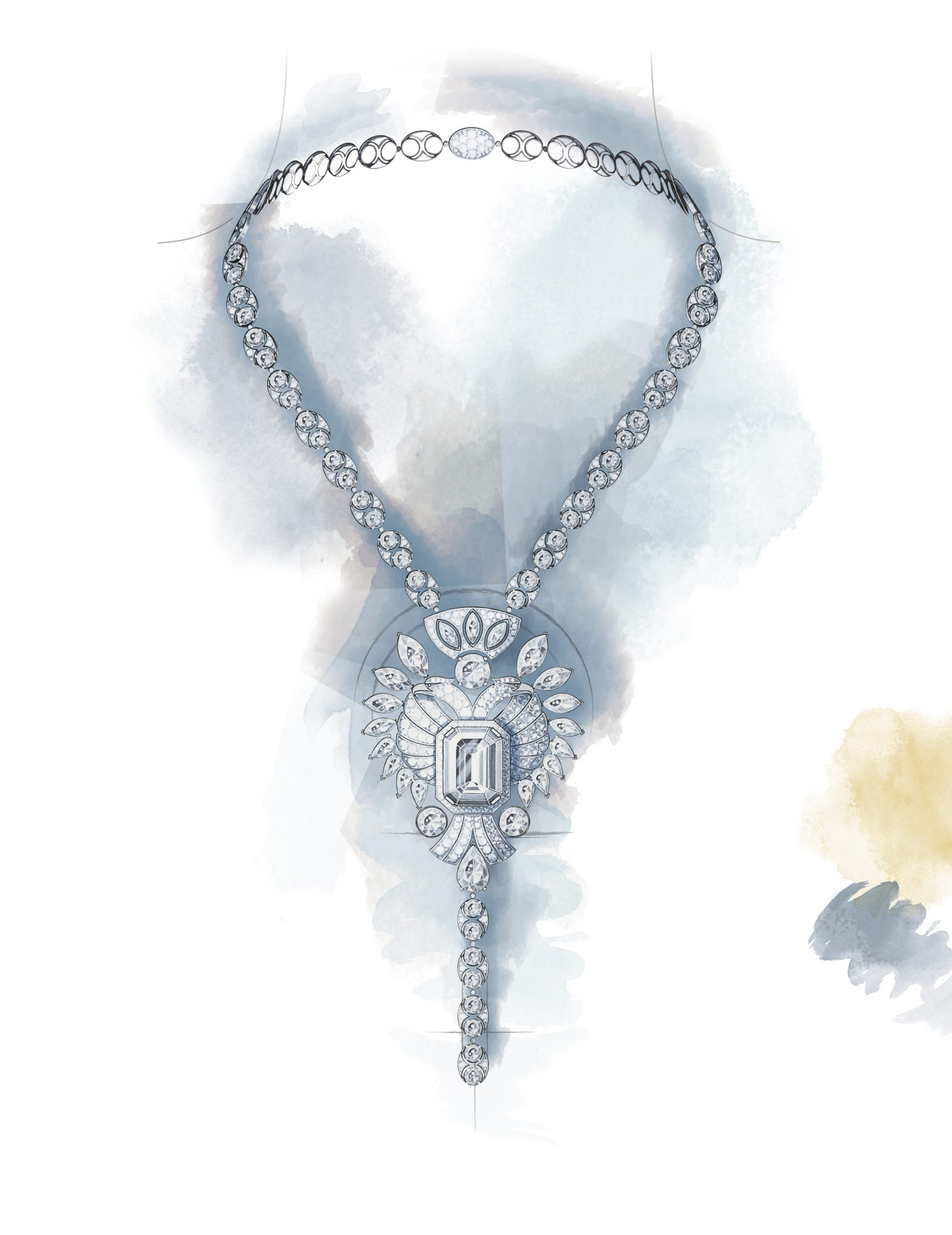 AIGLE CAMBON necklace Esprit de Gabrielle espritdegabrielle.com