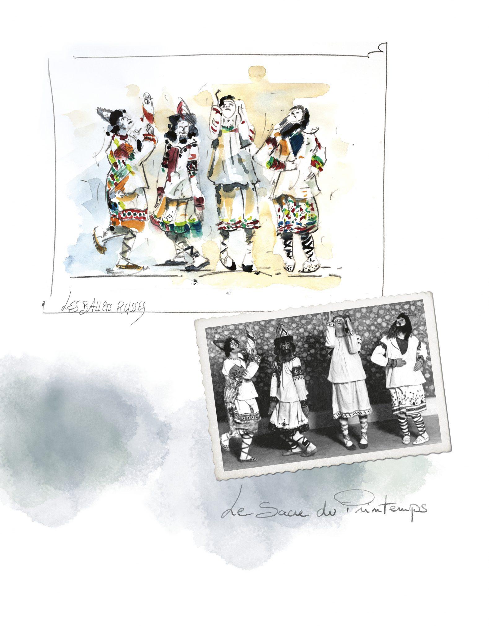LE PARIS RUSSE DE CHANEL Folklore Esprit de Chanel espritdegabrielle.com