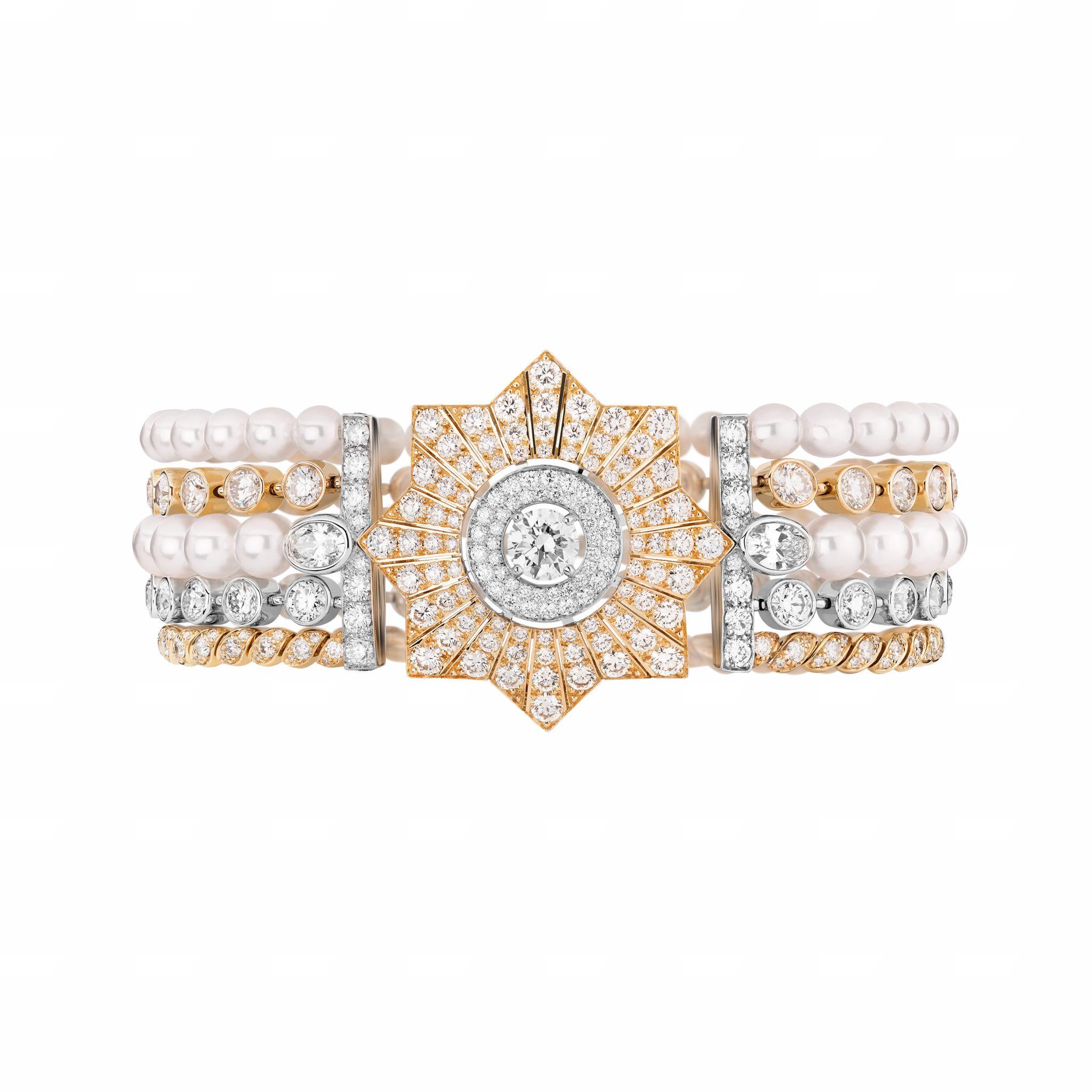 Médaille Solaire bracelet CHANEL Esprit de Gabrielle espritdegabrielle.com