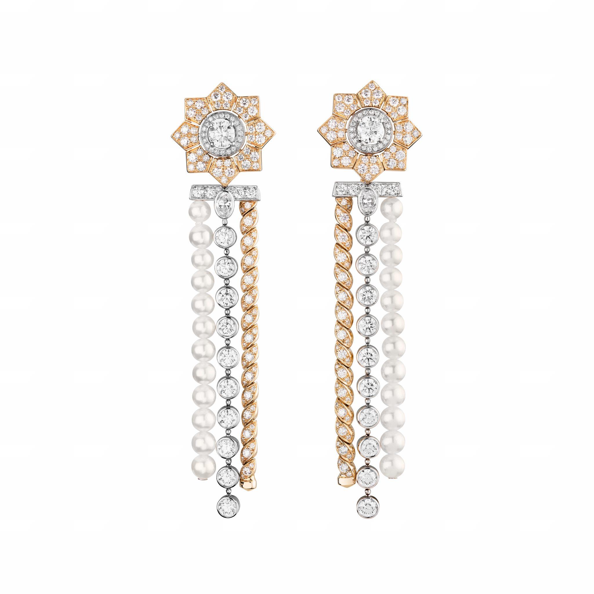 Médaille Solaire boucles d'oreilles CHANEL Esprit de Gabrielle espritdegabrielle.com