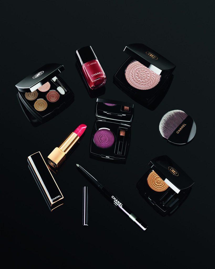 CHANEL Makeup COLLECTION HOLIDAY 2019 Les ornements Esprit de Gabrielle espritdegabrielle.com