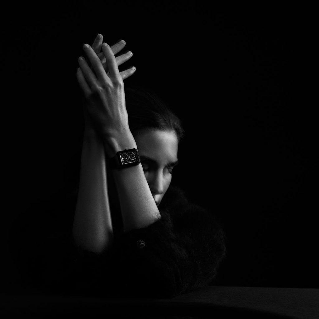 CHANEL montre édition noire Boyfriend Esprit de Gabrielle espritdegabrielle.com