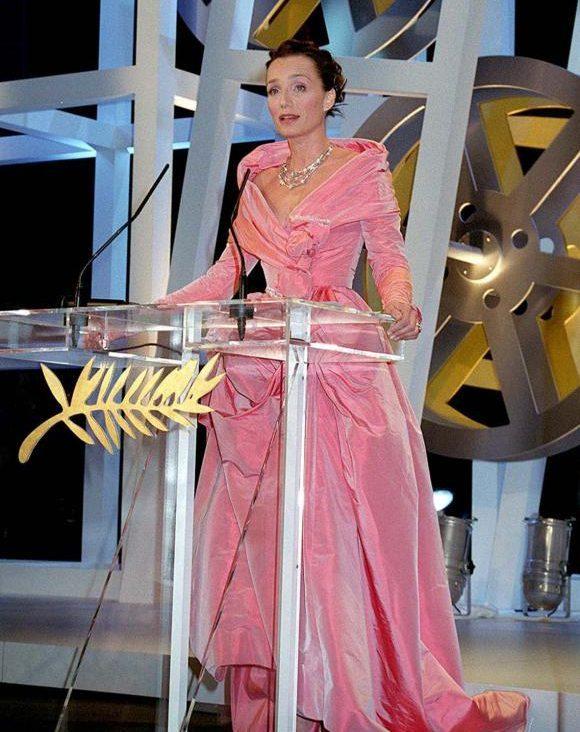 Kristin Scott Thomas Cannes 1999 Esprit de Gabrielle espritdegabrielle.com