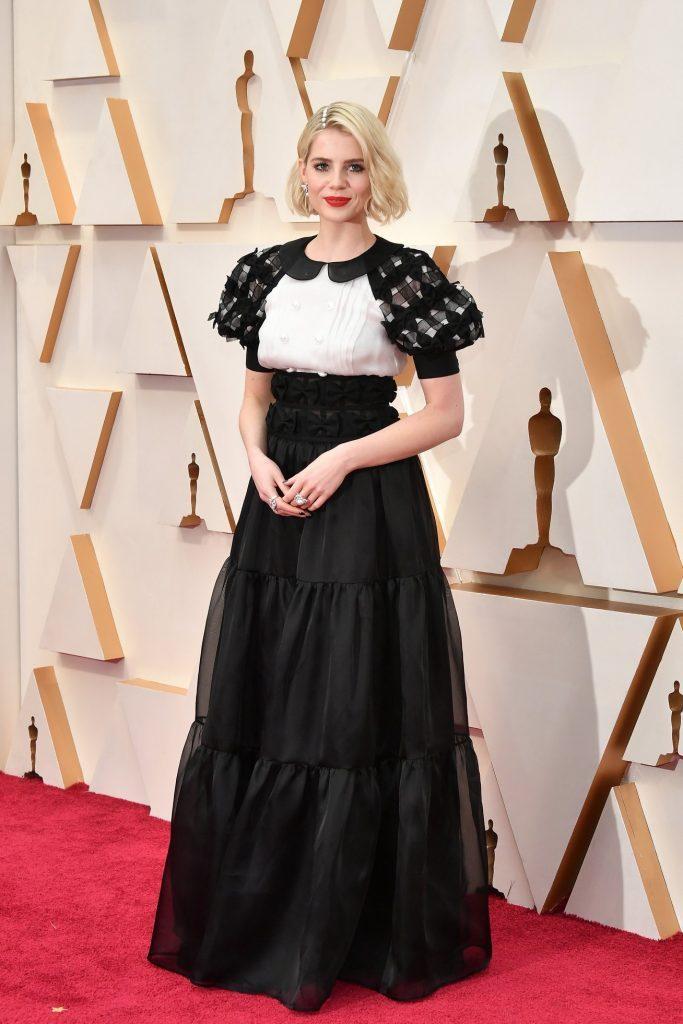 CHANEL Lucie Boynton Oscars 2020 Esprit de Gabrielle espritdegabrielle.com
