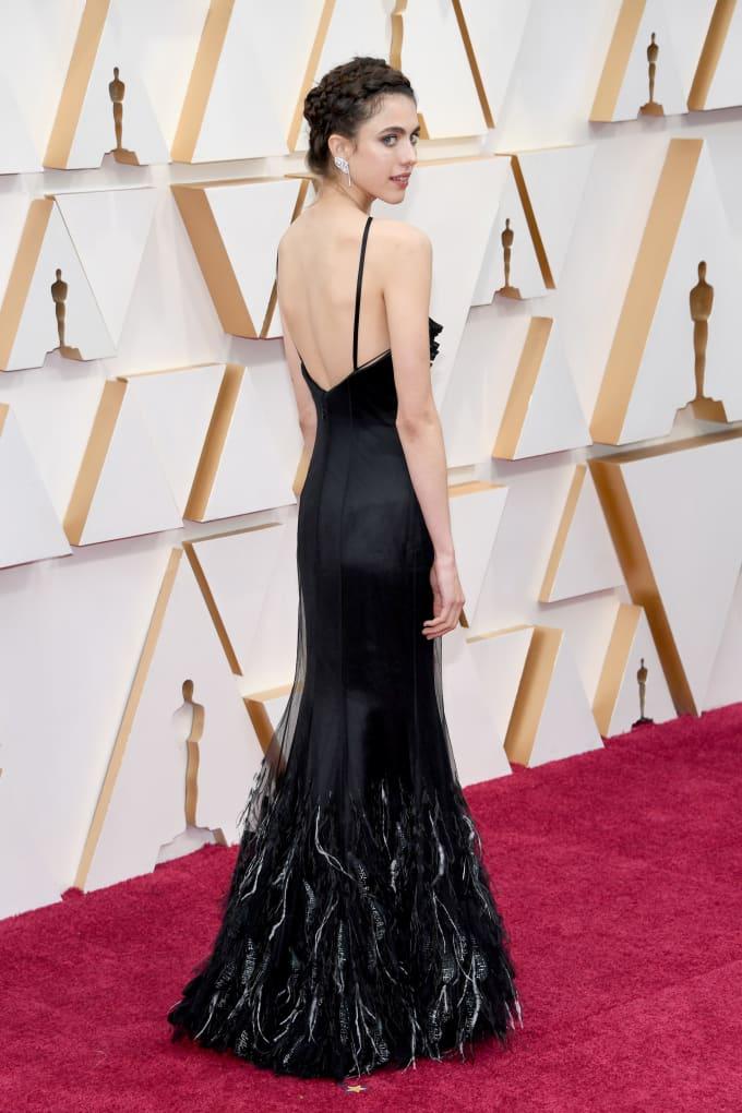 CHANEL Margaret Qualley Oscars 2020 Esprit de Gabrielle espritdegabrielle.com