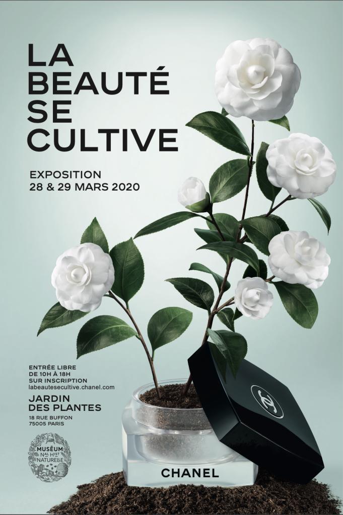 Exposition CHANEL La beauté se cultive Jardin des Plantes Esprit de Gabrielle espritdegabrielle.com