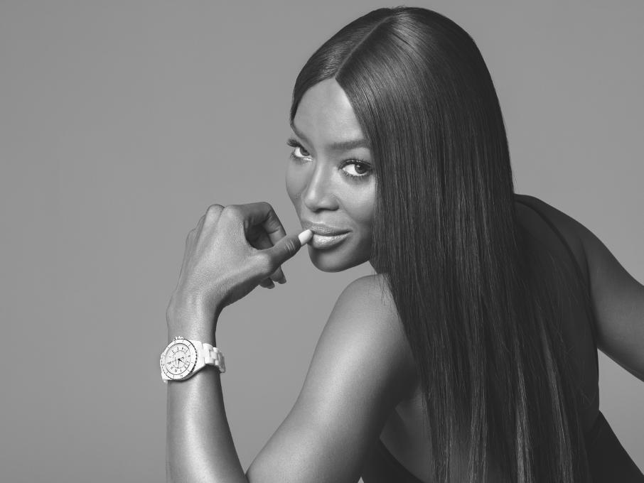 La montre CHANEL J12 a 20 ans NAOMI CAMPBELL Esprit de Gabrielle espritdegabrielle.com