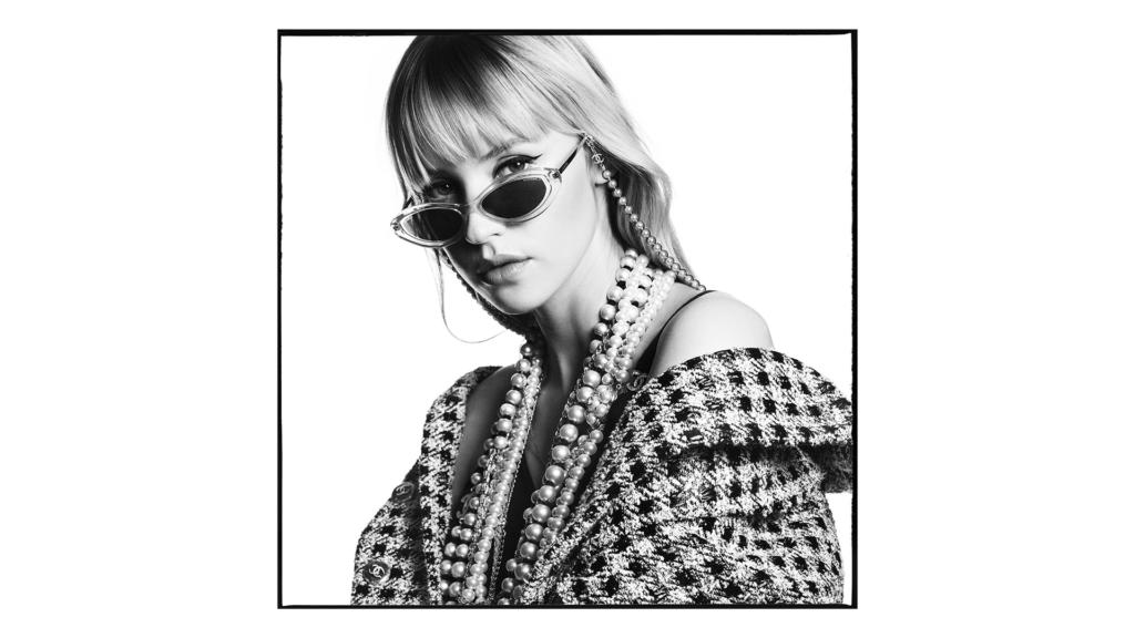 CHANEL campagne lunettes Angèle Esprit de Gabrielle espritdegabrielle.com