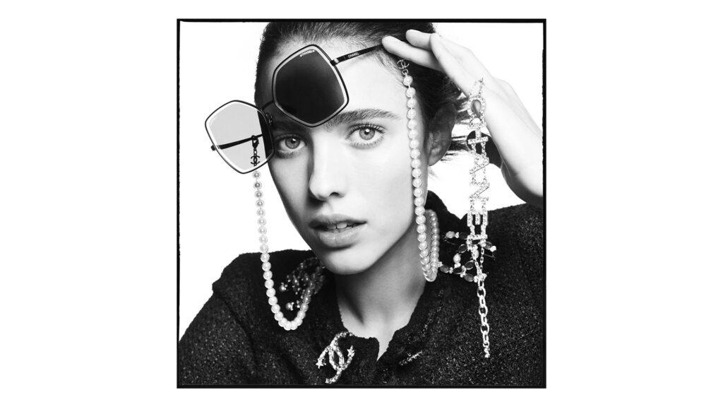 CHANEL campagne lunettes Margaret Qualley Esprit de Gabrielle espritdegabrielle.com