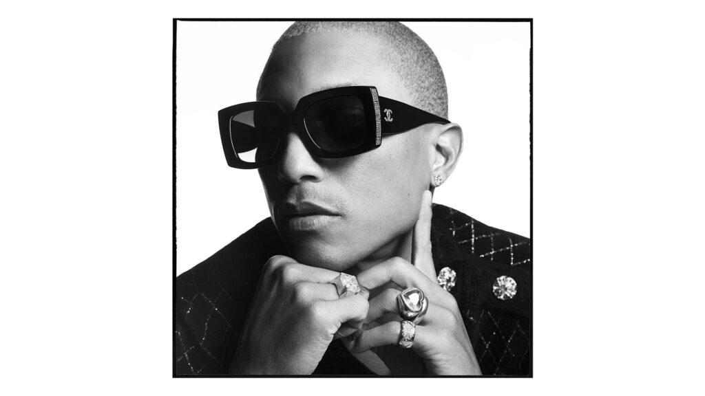 CHANEL campagne lunettes Pharrell Williams Esprit de Gabrielle espritdegabrielle.com