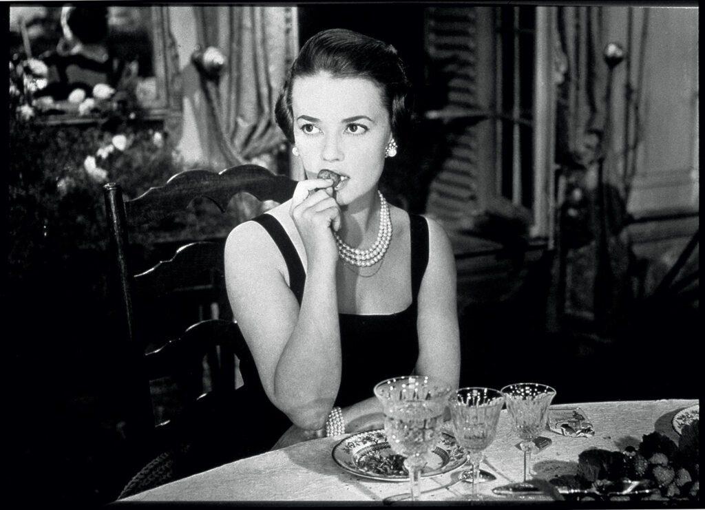 CHANEL et le cinéma 1958 Jeanne Moreau Les Amants Esprit de Gabrielle espritdegabrielle.com