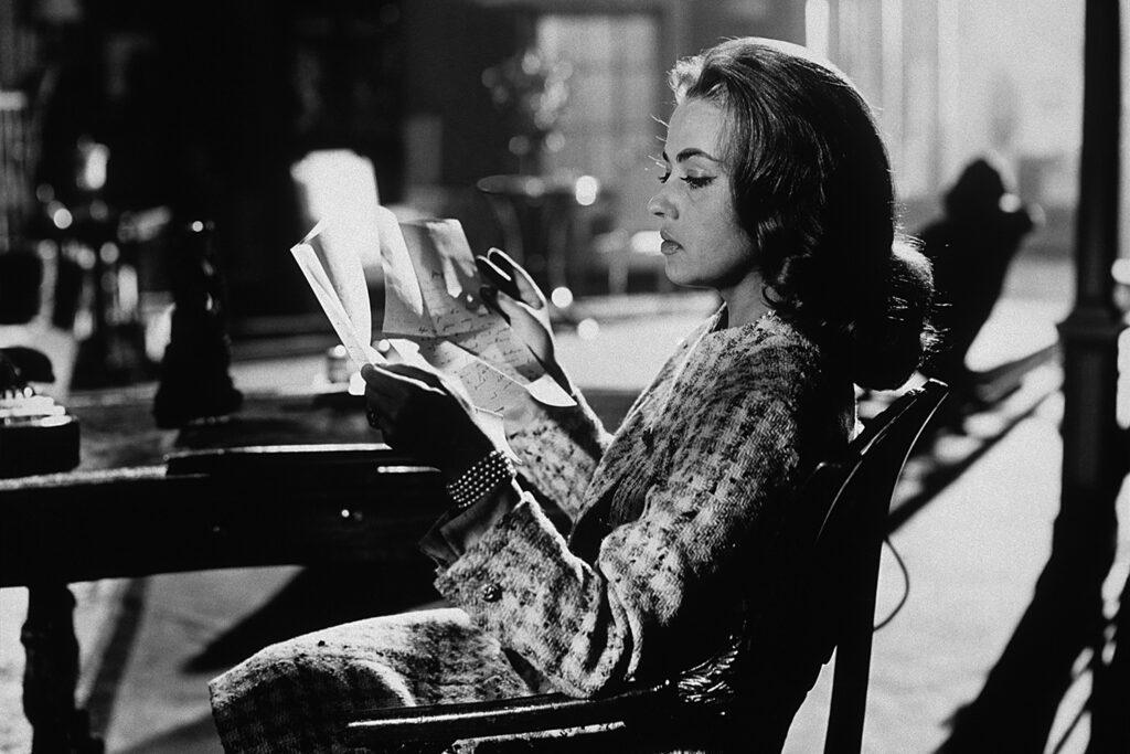 CHANEL et le cinéma 1960 Jeanne_Moreau Les Liaisons Dangereuses Esprit de Gabrielle espritdegabrielle.com