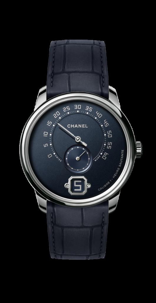 Montre Monsieur de CHANEL édition bleu Esprit de Gabrielle espritdegabrielle.com