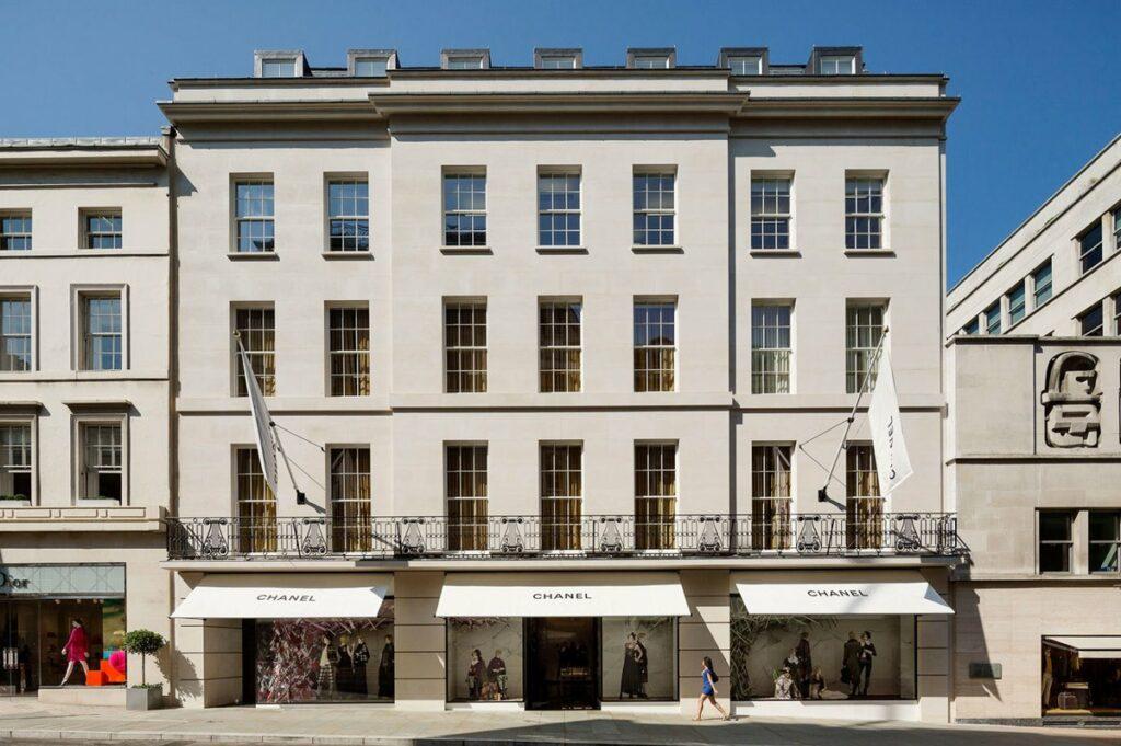 CHANEL Londres Boutique Bond Street Esprit de Gabrielle espritdegabrielle.com