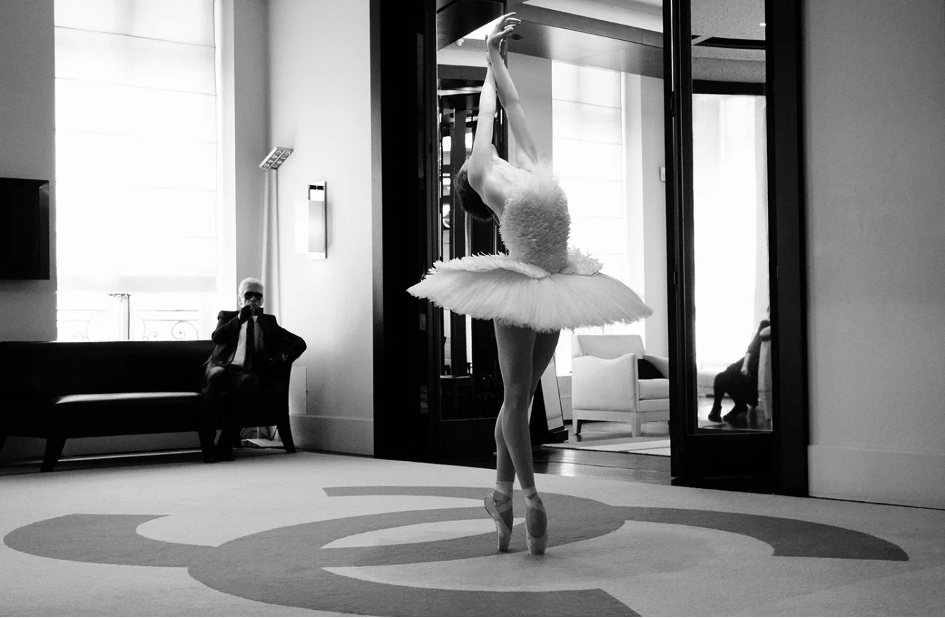 Karl Lagerfeld Elena Glurjidze danse 2018 Esprit de Gabrielle espritdegabrielle.com